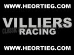 Villiers Racing Tank and Fairing Transfer Decal Sticker DVILL9 SILVER